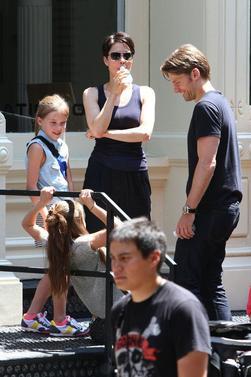 Nikolaj et sa famille en balade