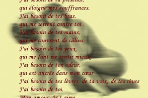 Je Besoin De Toi Mon Amour Solitaire Tu Es Le Sel De Ma Vie