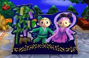 Tanabata (Fête des poupées) ✿