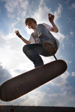 Skate Board Fin
