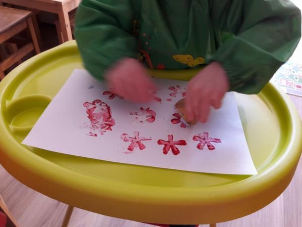 Peinture Pomme De Terre Blog D Assistante Maternelle