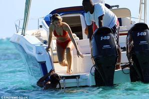Mélanie & Anthony Martial à l'île Maurice