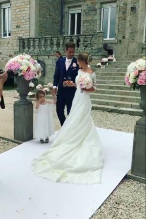 Cindy & Benjamin Lecomte se sont mariés le 10 Juin!