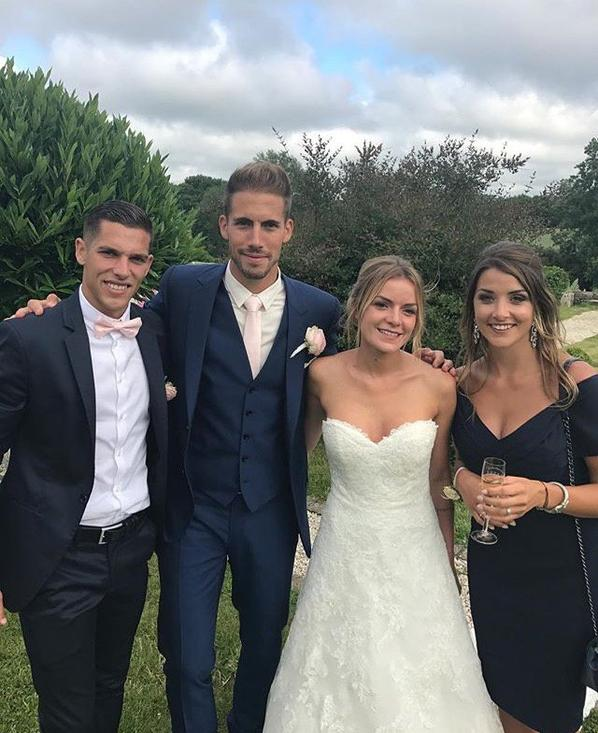 Solenne & Maxime Barthelmé avec Marine au mariage de Cindy & Benjamin!
