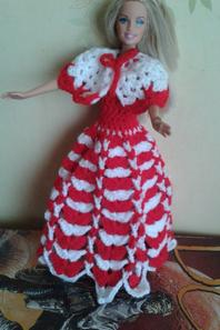 robe barbie