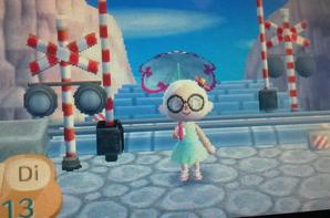 Animal Crossing New Leaf - Mon village