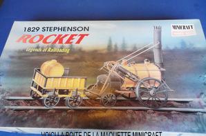 LA VAPEUR S'IMPOSE DANS LE TRANSPORT TERRESTRE : LA ROCKET DES FRERES STEPHENSON par EDDIE