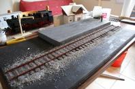 suite du diorama du train