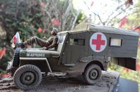 JEEP AMBULANCE BRITANNIQUE par EDDIE