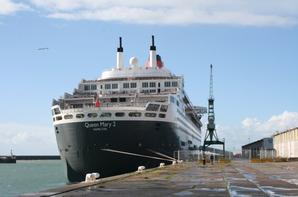 Le Queen Mary 2 au Havre