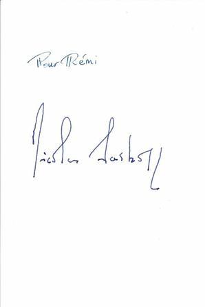 56 Nicolas Sarkozy Rem Autographes Dedicaces