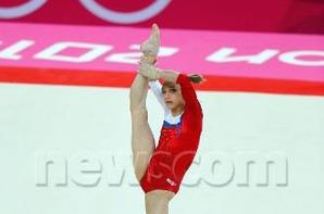 Viktoria Komova, Vice-championne Olypique 2012