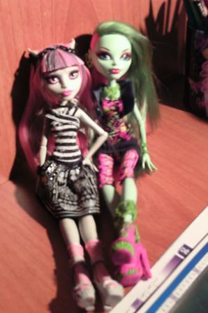 Séance photo de Venus et Rochelle
