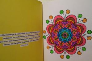 Mon nouveau livre de Mandalas ^^