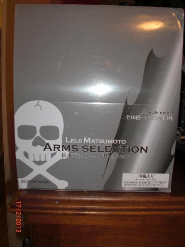 Albator, 5 Sabres Laser et 5 Pistolets