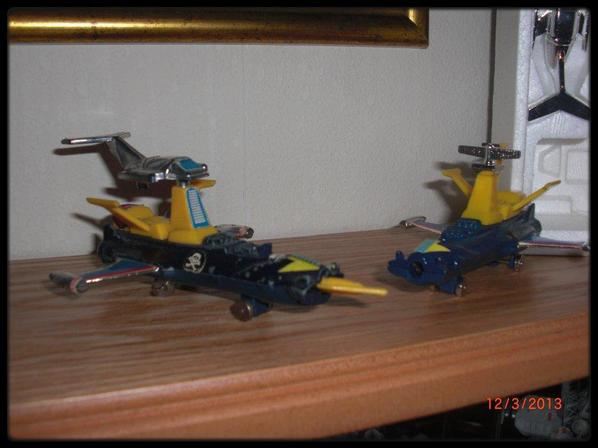 Albator - 2 versions de l'Atlantis, 1978
