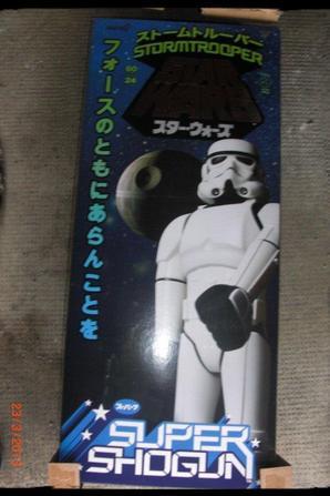 SUPER SHOGUN, Star Wars Stormtrooper 60cm, j'ai trouvé ces 2 missiles neufs