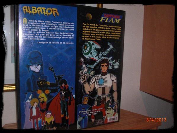 Coffret, Le best of , Albator 78 et Capitaine flam- L'intégrale + film