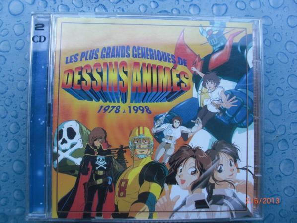 2 CD, Les plus grands générique de Dessins Animés, 1978 à 1998