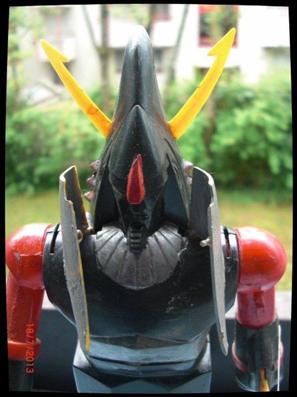 Shogun Warriors Raydeen, maquette - Article No 2 acheté à mon ami (actarusgo)