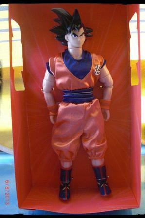 DBZ, Poupée Irwin Goku, 30cm (Son Goku)