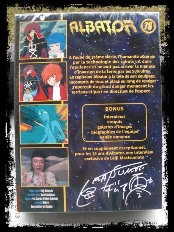 DVD, Albator 78, les 30 ans d'Albator