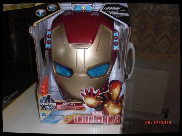Masque Iron Man 3 avec son et lumière