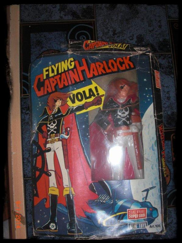 Albator, Flying Captain Harlock Vola!