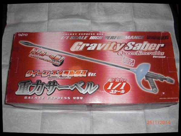 Albator, Gravity Saber Queen Emeraldas 1/1 - Galaxy Express 999