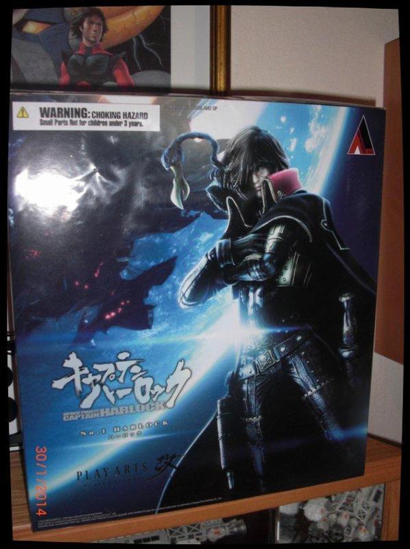 Albator,Captain Harlock, Square Enix Play Arts Kai N°1