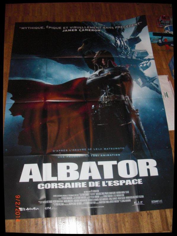 Albator - Poster du Film Captain Harlock