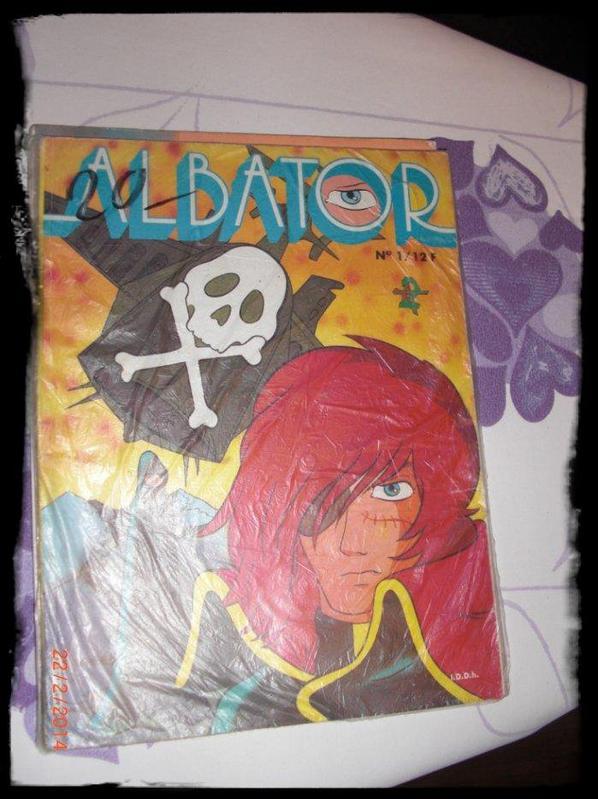 Albator, BD No 1