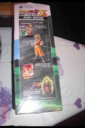 Jeux PS3  Dragon Ball Z, Battle of Z, Goku Edition