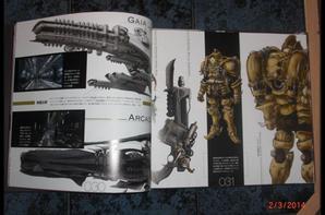 Artbook space pirate Captain Harlock - Albator - Concept Art Book