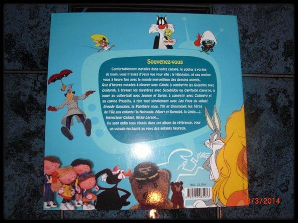 Livre - Nos dessins animés des années 70-80
