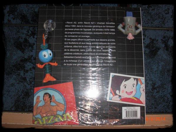 Livre - Nos années récré A2 , 1978-1988