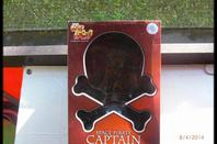 Captain Harlock (Albator) statuette Captain Harlock on Throne