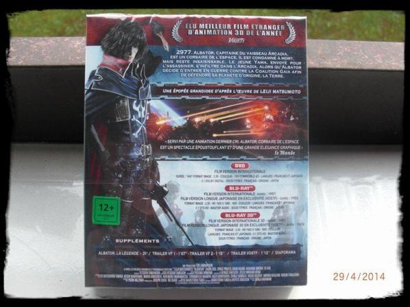 DVD, Albator Corsaire de l'espace, 3D