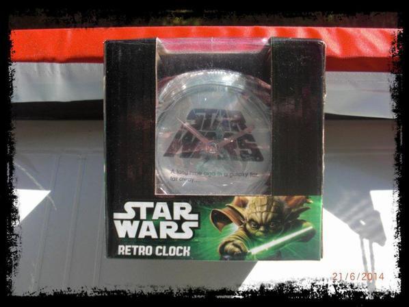 Réveil Star Wars, version vintage