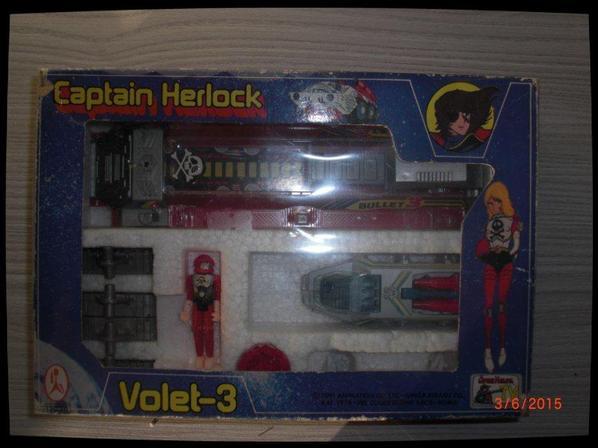 Captain Herlock, Lanceur volet 3