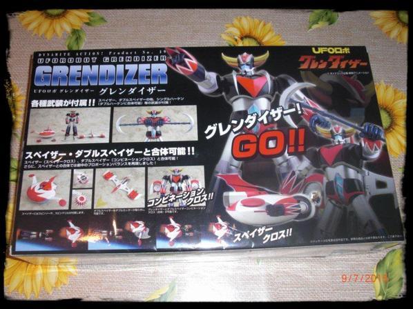 Goldorak, figurine Goldorak Black Dynamite Action Evolution Toy