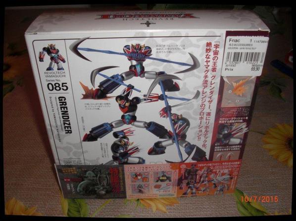 Goldorak - Revoltech Yamaguchi n°085 Kaiyodo