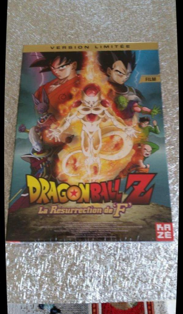 "DVD, Film - Dragon Ball Z, la résurrection de ""F"""