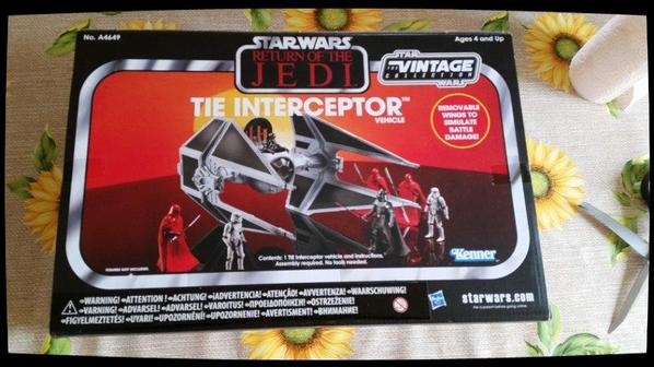 Star Wars, Return of the Jedi, Tie Interceptor