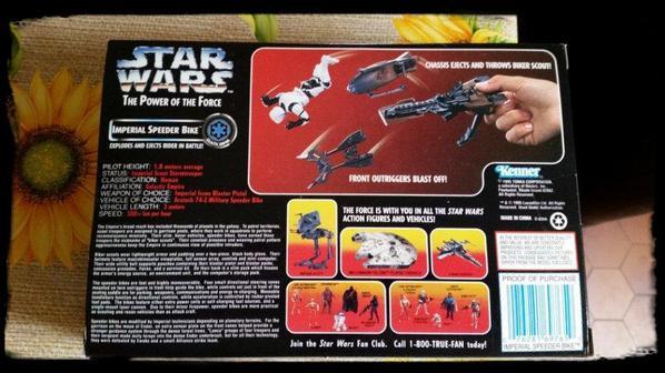 Star Wars, Imperial Speeder Bike
