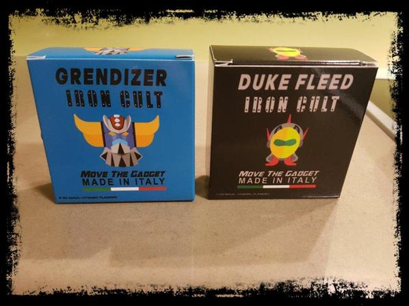 Grendizer, Goldorak, Iron Cult