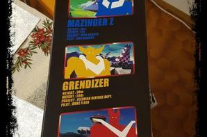 Grendizer,Goldorak,Jungle 50cm  Limité 100 pèces dans le Monde