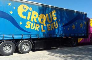 """""""Reportage numéro 1 Lucrio été 2018:""""le cirque sur l'eau aux sables d'olonne""""."""