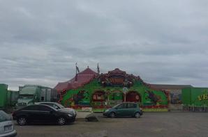 """""""reportage Lucrio numéro 2 été 2018:""""Le cirque de venise de passage a St Hilaire de Riez""""."""