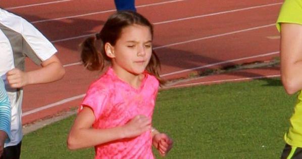 Suri fait de l'athlétisme !